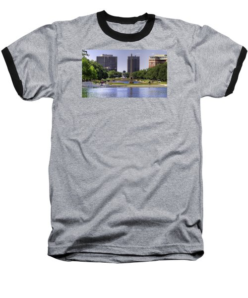 Hermann Park Baseball T-Shirt by Tim Stanley