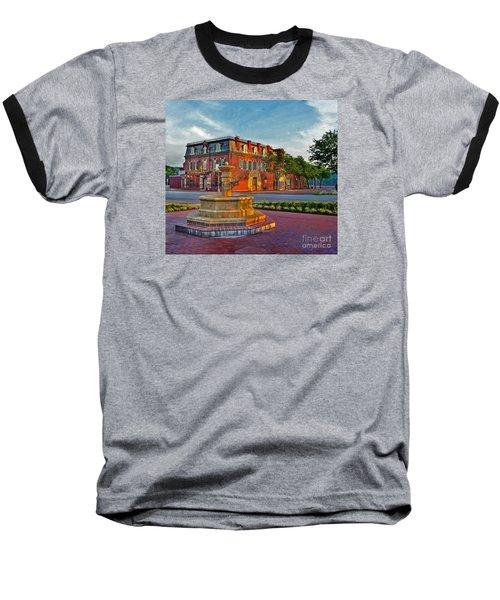 Hermannhof Festhalle Baseball T-Shirt by William Fields