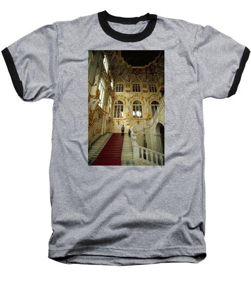 Hermitage Staircase Baseball T-Shirt