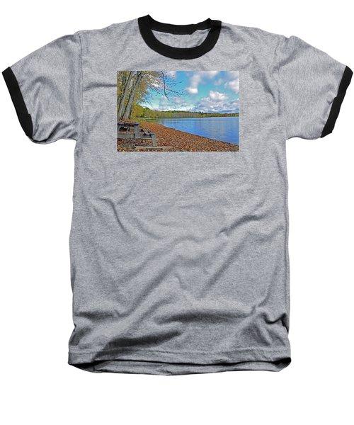 Fall Picnic In Maine Baseball T-Shirt by Glenn Gordon