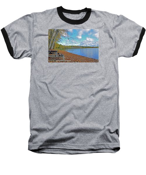 Fall Picnic In Maine Baseball T-Shirt