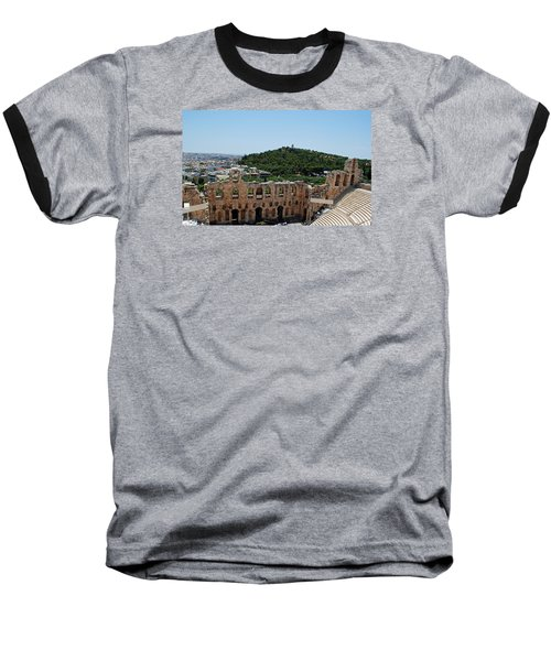Herodeons Amphitheatre Baseball T-Shirt