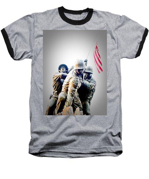 Heroes Baseball T-Shirt by Julie Niemela
