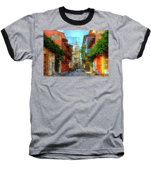 Heroic City, Cartagena De Indias Colombia Baseball T-Shirt