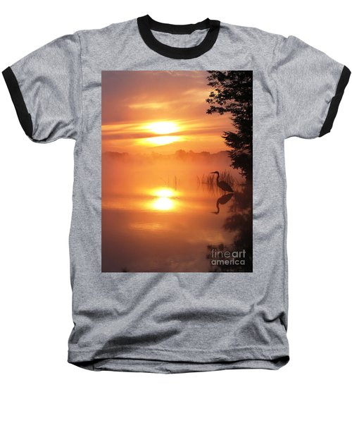 Baseball T-Shirt featuring the photograph Heron Collection 2 by Melissa Stoudt