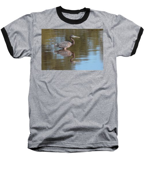 Heron Baseball T-Shirt