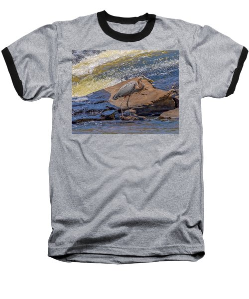 Heron Baseball T-Shirt