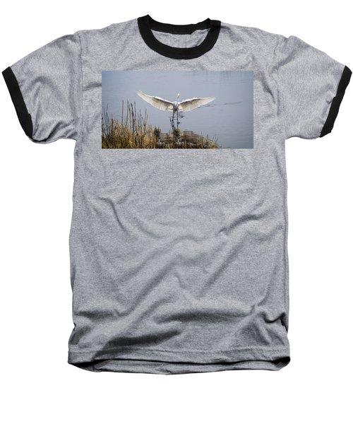 Heron Landing Baseball T-Shirt