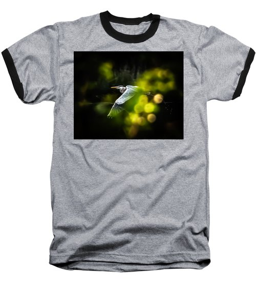 Heron Launch Baseball T-Shirt