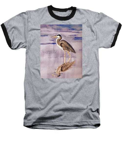 Heron No. 2 Baseball T-Shirt