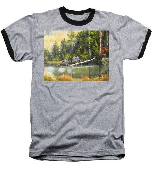 Heron Perch Baseball T-Shirt