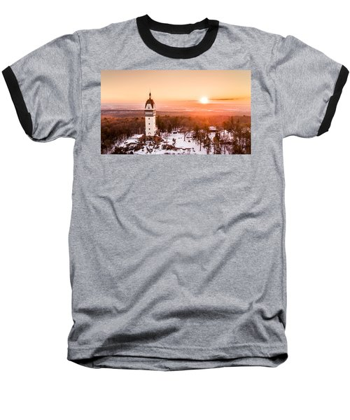 Heublein Tower In Simsbury Connecticut Baseball T-Shirt