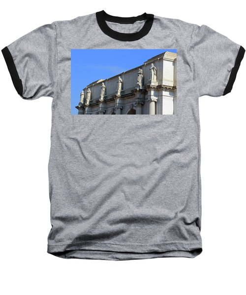 Hey Is That Joe Biden One Statue Said To Another At Union Station Baseball T-Shirt