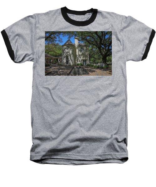 Heyman House Fountain Baseball T-Shirt