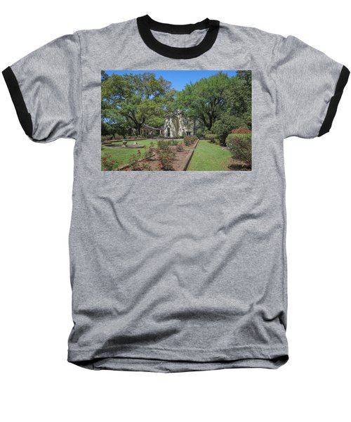 Baseball T-Shirt featuring the photograph Heyman House Garden 5 by Gregory Daley  PPSA