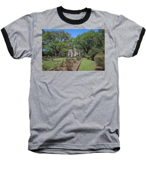 Heyman House Garden 5 Baseball T-Shirt by Gregory Daley  PPSA