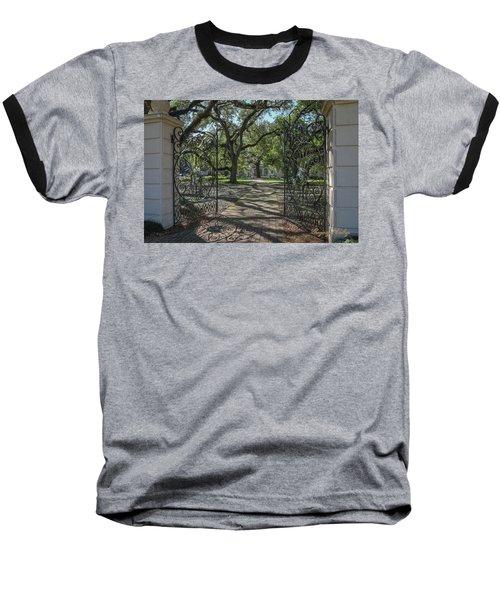 Heyman House Gates 1 Baseball T-Shirt by Gregory Daley  PPSA