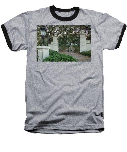 Heyman House Gates Baseball T-Shirt