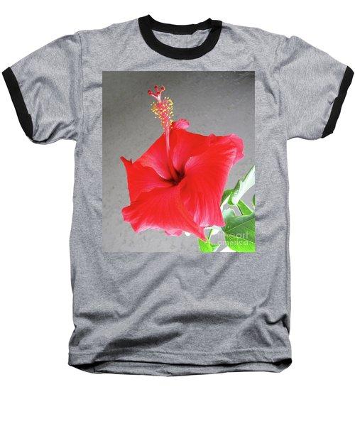 Hibiscus #2 Baseball T-Shirt