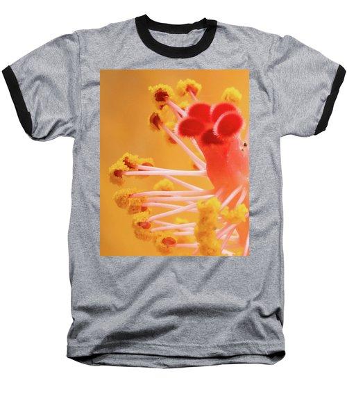 Hibiscus-2 Baseball T-Shirt