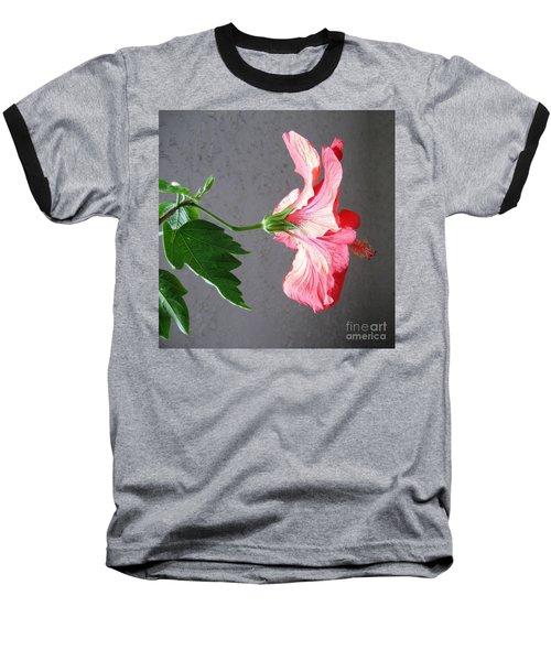 Hibiscus #4 Baseball T-Shirt