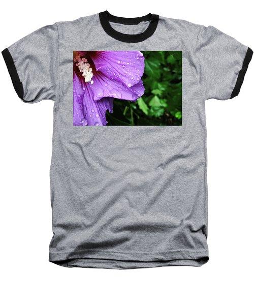 Baseball T-Shirt featuring the photograph Hibiscus Corner by Robert Knight