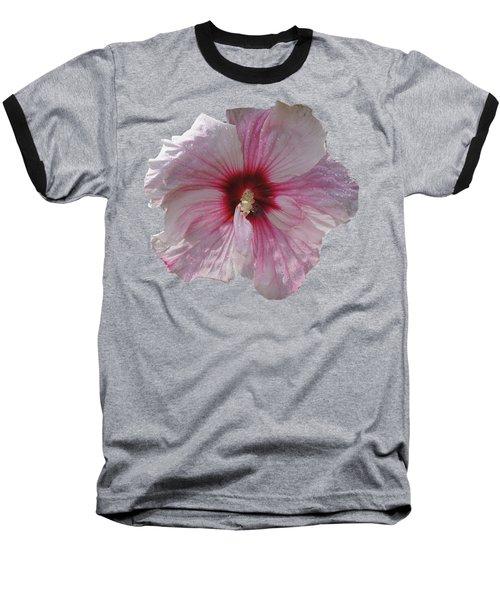 Hibiscus Baseball T-Shirt by David and Lynn Keller
