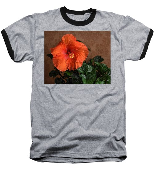 Hibiscus Fine Art Baseball T-Shirt