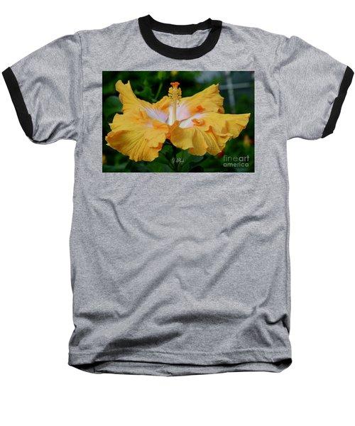 Hibiscus Golden Mist Baseball T-Shirt