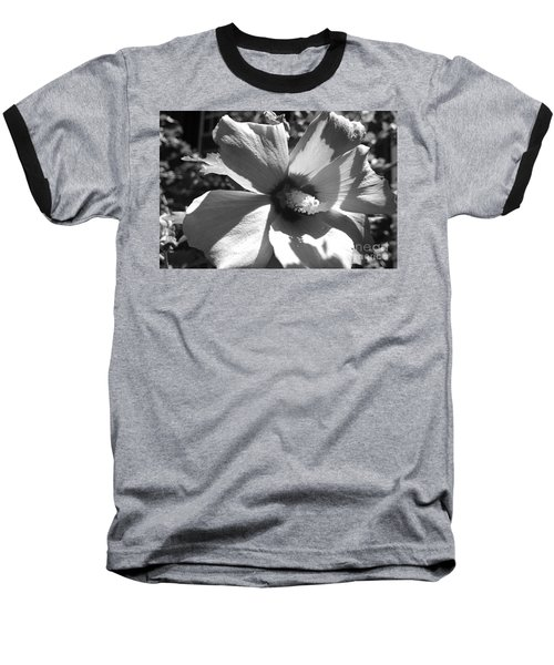 Hibiscus In Bloom Baseball T-Shirt
