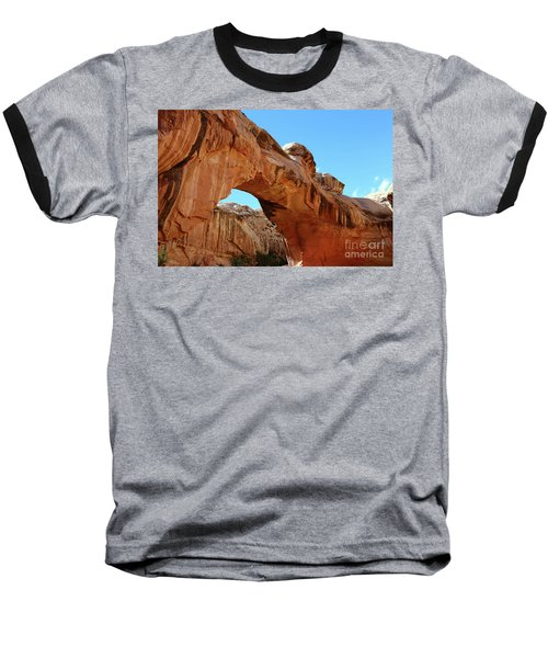 Hickman Bridge Capitol Reef Baseball T-Shirt
