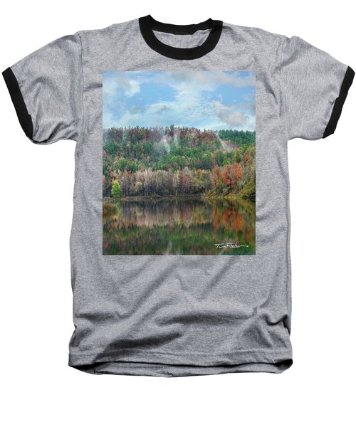 Hickory Forest Baseball T-Shirt by Tim Fitzharris