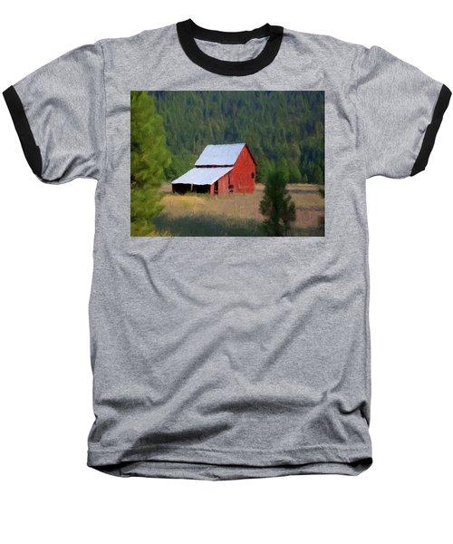 Baseball T-Shirt featuring the painting Hidden Away P D P by David Dehner