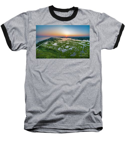 Hidden Beauty Pano Baseball T-Shirt