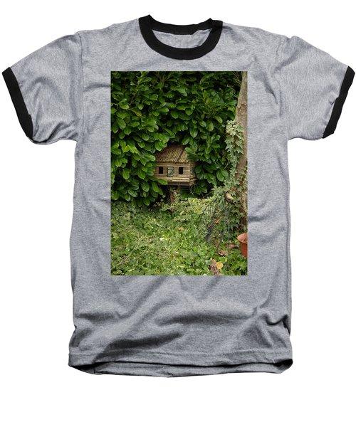 Hidden Birdhouse Baseball T-Shirt