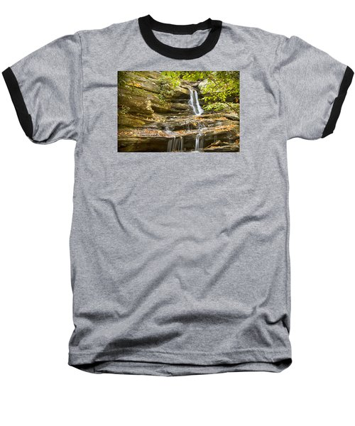 Hidden Falls-hanging Rock State Park Baseball T-Shirt