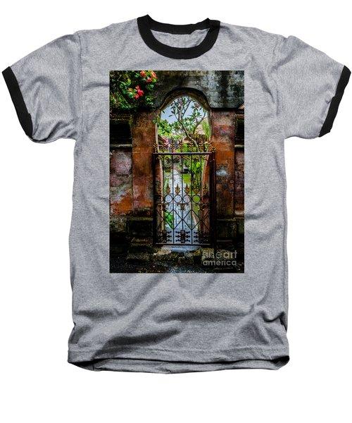Bali Gate Baseball T-Shirt