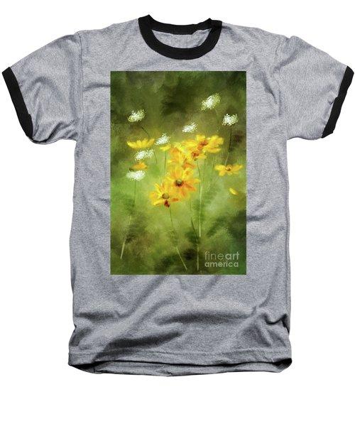 Baseball T-Shirt featuring the digital art Hidden Gems by Lois Bryan
