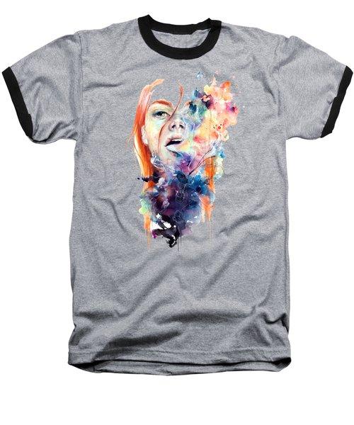 Hidden T-shirt Baseball T-Shirt by Herb Strobino