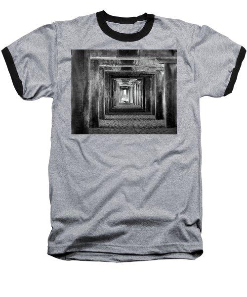 Hidden Illusions 2 Bw Baseball T-Shirt