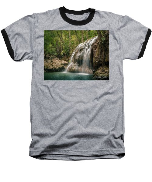 Baseball T-Shirt featuring the photograph Hidden In The Jungle Of Guatemala by Jola Martysz