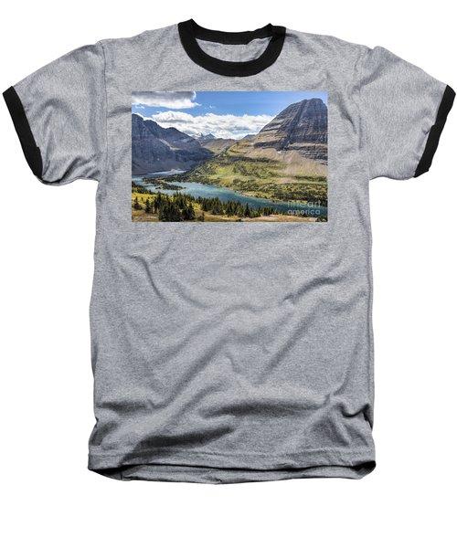 Hidden Lake Overlook Baseball T-Shirt