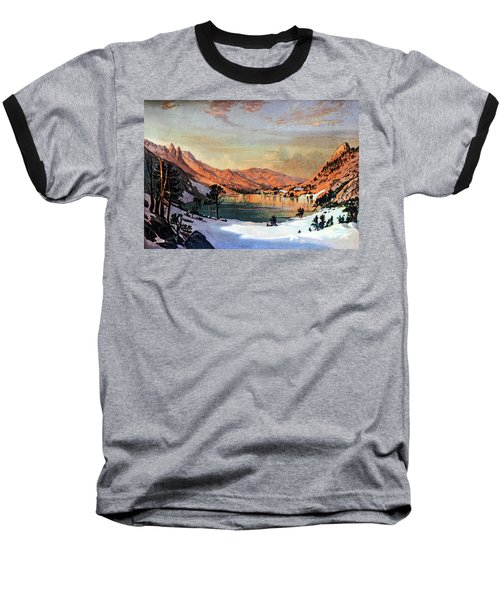Hidden Lake Western United States Baseball T-Shirt