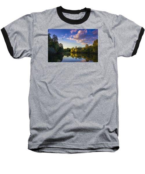 Hidden Light Baseball T-Shirt by Marvin Spates