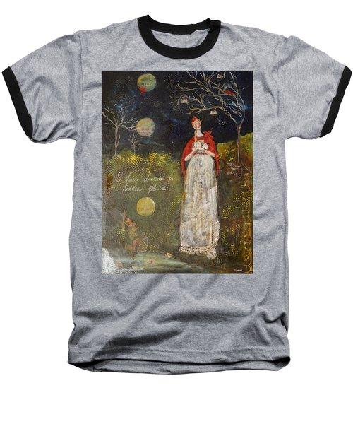 Hidden Places Baseball T-Shirt