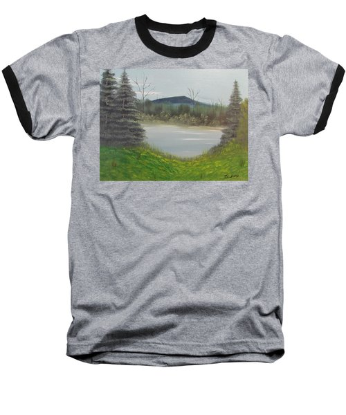 Hidden Pond  Baseball T-Shirt