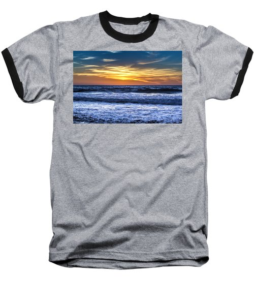 Hidden Sunset Baseball T-Shirt