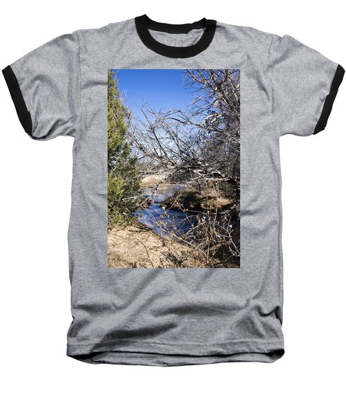 Hidden Swimming Hole Baseball T-Shirt