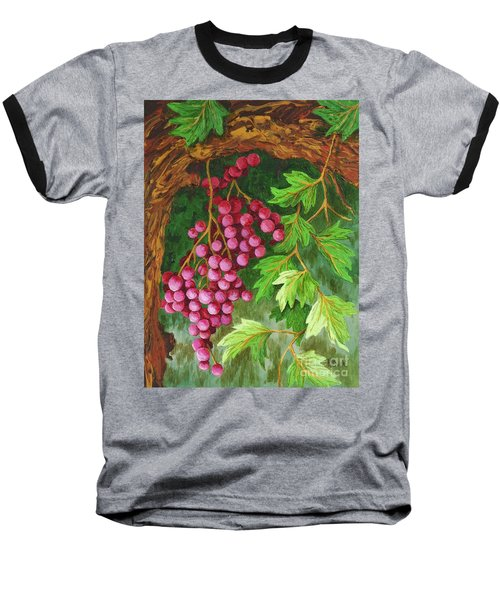 Baseball T-Shirt featuring the painting Hidden Treasure by Katherine Young-Beck