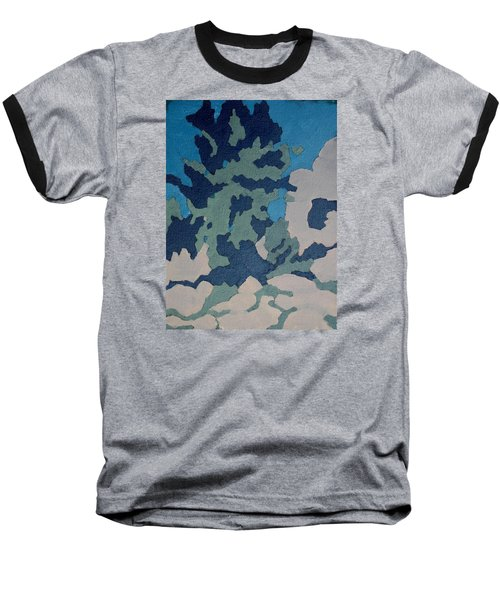 Hidden Valley Abstraction Baseball T-Shirt